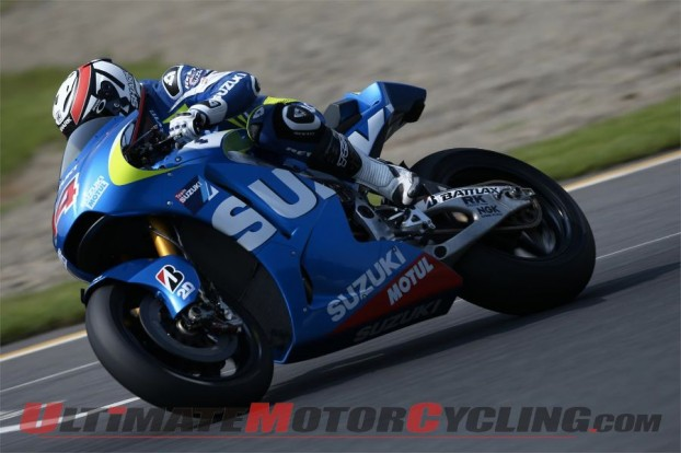 Suzuki MotoGP & De Puniet Complete Two-Day Motegi Test