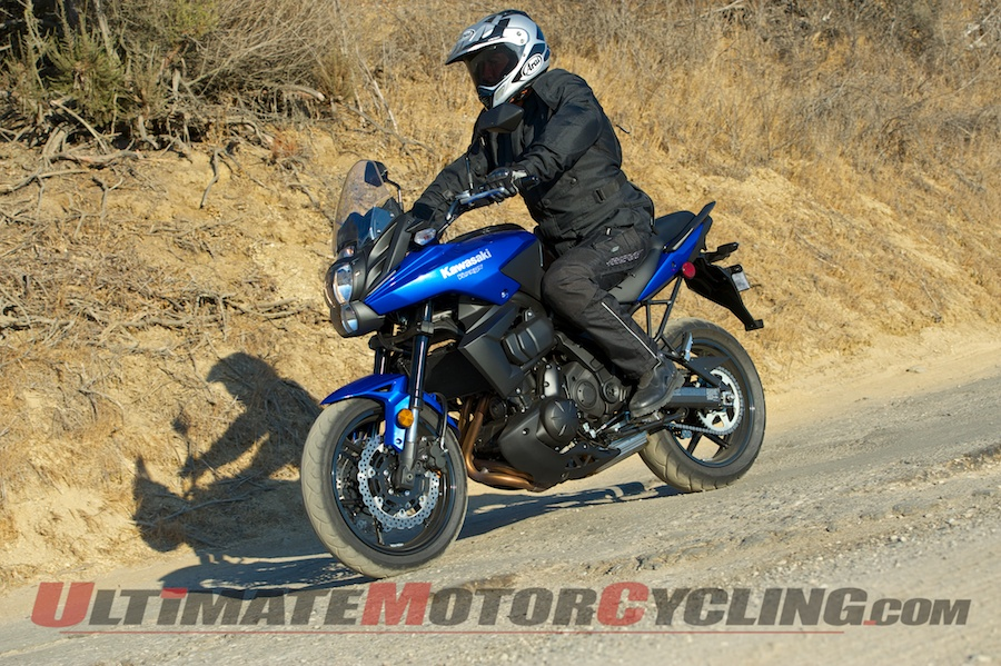 2013 Kawasaki Versys Abs Adventure Motorcycle Test