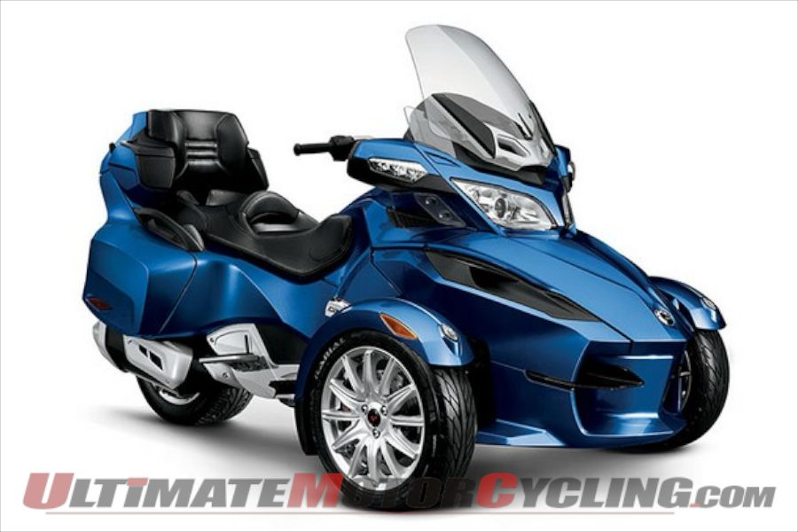 Can-Am Spyder RT & ST Recalled for Brake-Fluid Issues