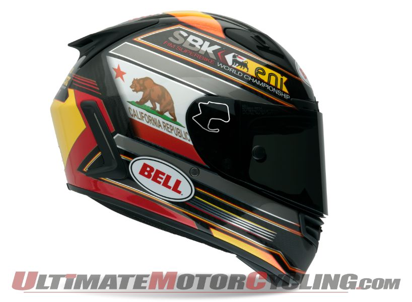 Bell Releases Limited Edition Laguna Seca World SBK Helmet