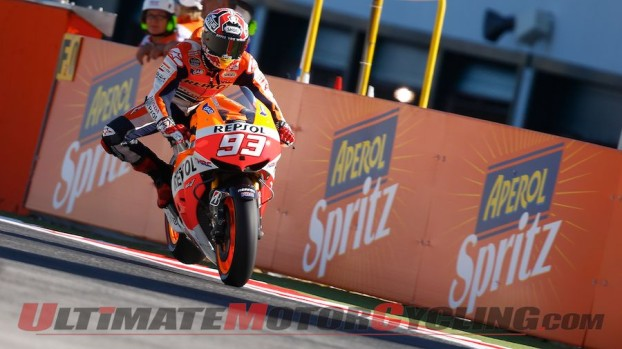 Marquez Earns Sixth Pole of 2013 MotoGP at Misano