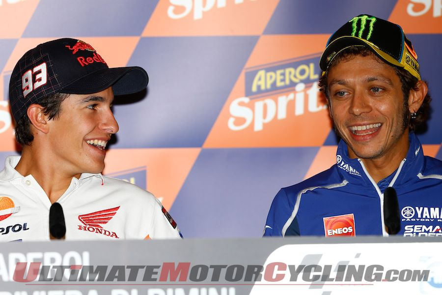 Misano MotoGP | Marquez, Lorenzo and Rossi Highlight Conference