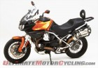 Moto Guzzi Stelvio 1200 with Corbin Canyon Dual Sport Saddle