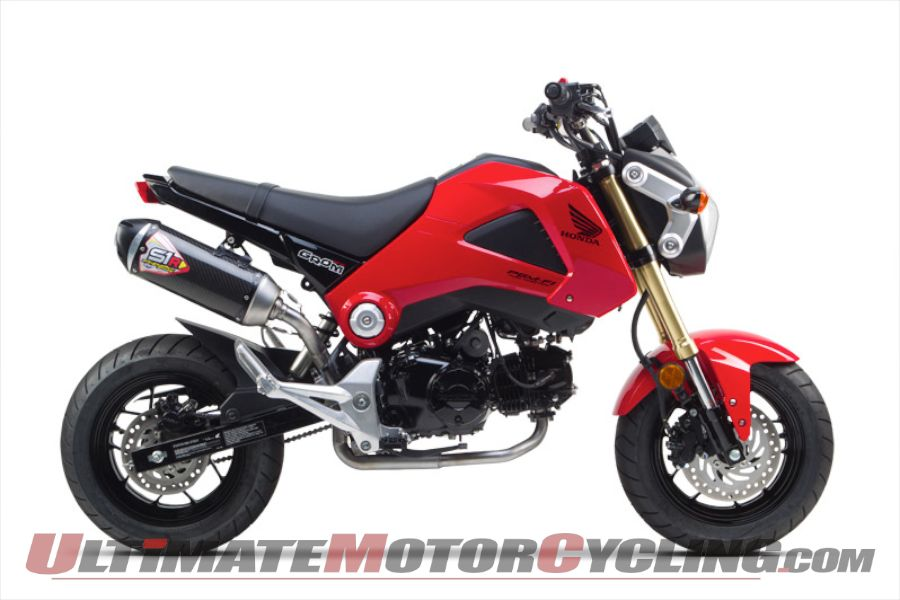 Two Brothers Carbon Fiber S1-R for Honda Grom