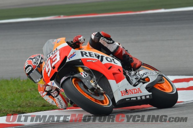 MotoGP: Honda's Marquez Earns 8th Pole at Sepang