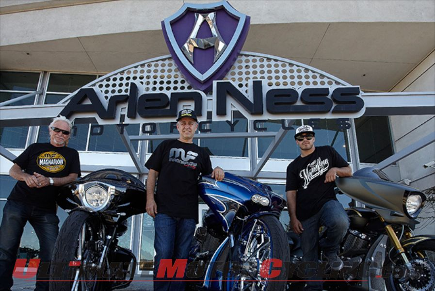 Magnaflow Partners with Arlen Ness Motorcycles