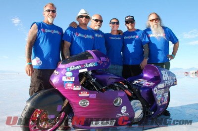Jody Perewitz Runs 208mph at Bonneville on V-Twin