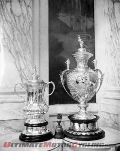 Senior TT Trophy to Prestigious Exhibition at Ascot