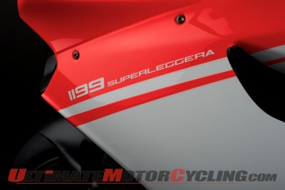 Ducati 1199 Superleggera paint