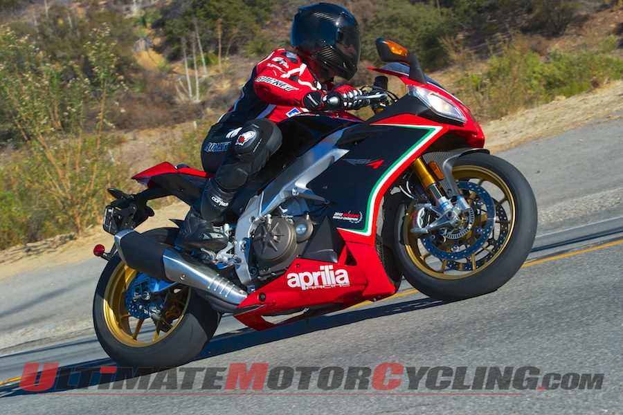 2013 Aprilia RSV4 Factory Street Review | Mere Mortal Meets the Champ