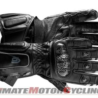 BearTek Motorcycle Gloves with Built-In GoPro Camera & Bluetooth Controls