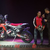 Honda's new CRF450 Rally at EICMA | Video
