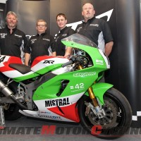 Classic TT: Mistral Racing Signs Harrison & Coward on ZXR750s