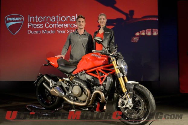 Ducati Presents 2014 Range, including Monster 1200, at EICMA
