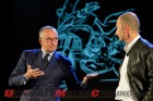 Head of VW Group Design Walter de Silva and Ducati CEO Claudio Domenicali