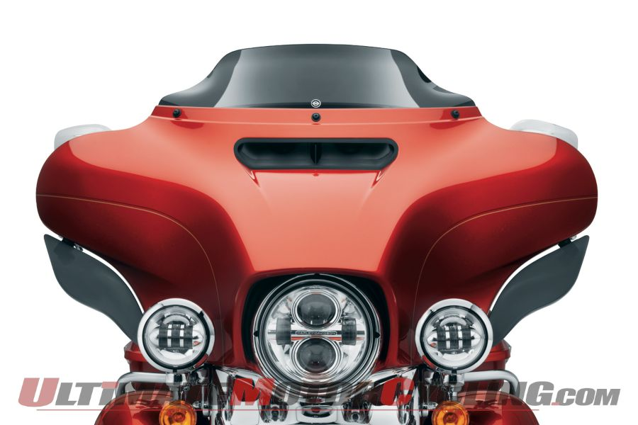 Harley Releases Wind Splitter Windshields for 2014 Tourers
