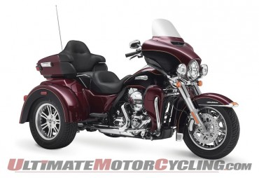 Harley Recalls 2014 Trike Motorcycles for Loss of Brake Fluid