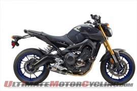 2014 Yamaha FZ-09 with Two Brothers Racing S1-R Exhaust