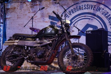 "British Customs ""Dirt Bike"" Triumph Scrambler"