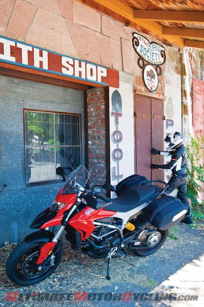 Ducati Hyperstrada Review While Touring California Route 49