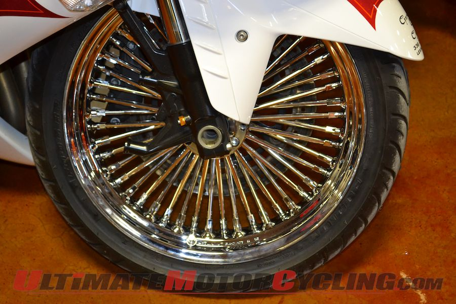 Garwood Custom Cycles' Spoke Wheels for Sportbikes