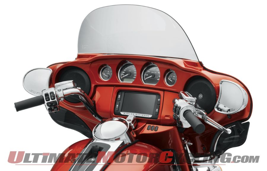 2014 Harley Street Glide, Electra Glide Color-Matched Inner Fairing
