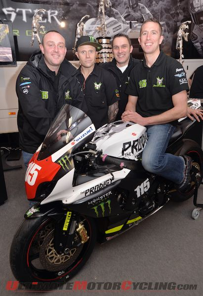 2014 Isle of Man TT | Mercer to Ride for Flint's Team Traction Control