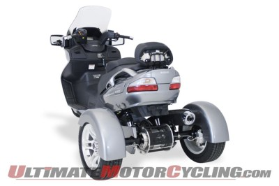 Suzuki Burgman 650 with Motor Trike Conversion