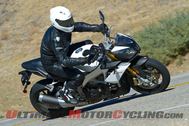 2014 Aprilia Tuono V4 R APRC ABS Review | Naked Son of the Champ
