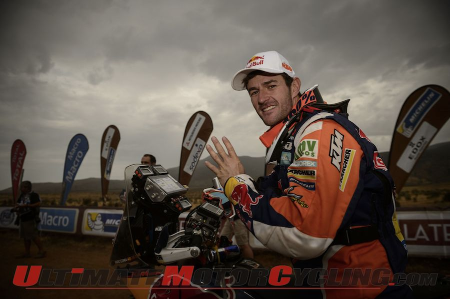 Dakar 2014 Final Motorcycle Results | Coma Takes 4th Title
