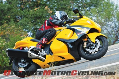 2014 Suzuki Hayabusa (photo by Don Williams)