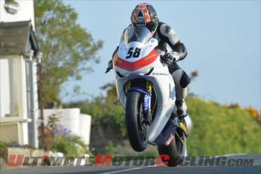 IOM TT competitor Lee Johnston