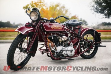 Steve McQueen's 1923 Indian Big Chief