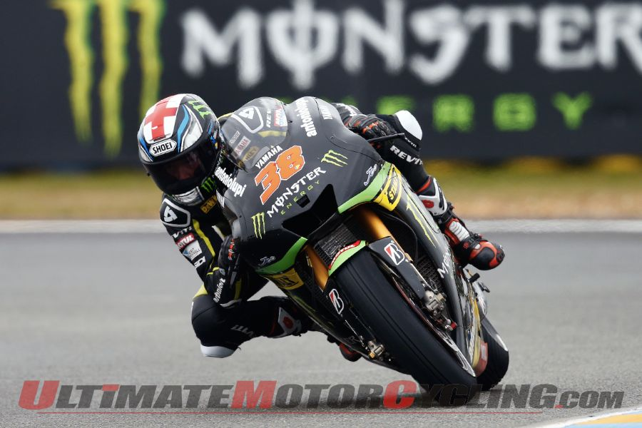 Monster Tech 3 Yamaha's Bradley Smith