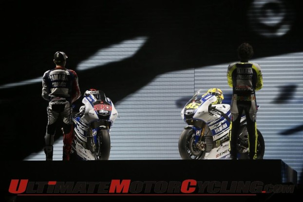Rossi & Lorenzo Launch 2014 Yamaha YZR-M1, Preview MotoGP