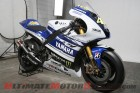 Valentino Rossi's YZR-M1 in 2014 MotoGP livery