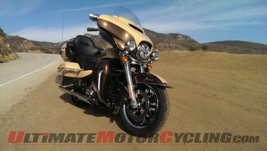 2014 Harley-Davidson Ultra Limited Review | Ham on a Hog