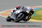 Josh Herrin during Valencia Moto2 testing, day 1