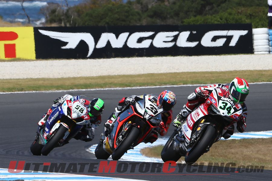 2014 Phillip Island World Superbike | Results