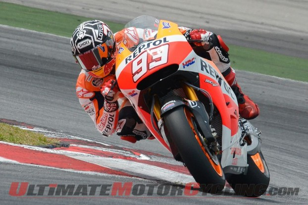 Marquez Breaks 2-Minute Barrier at Sepang MotoGP Test, Day 2