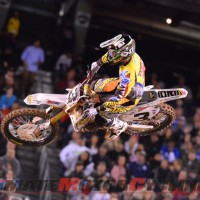 GEICO Honda's Tomac Takes 7th in First Complete SX Race of 2014