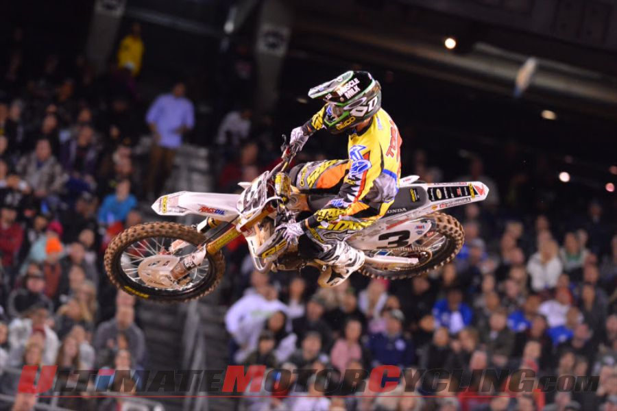 GEICO Honda's Eli Tomac at San Diego Supercross