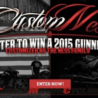 Win a Victory Gunner, Have it Customized While Hanging with Arlen Ness