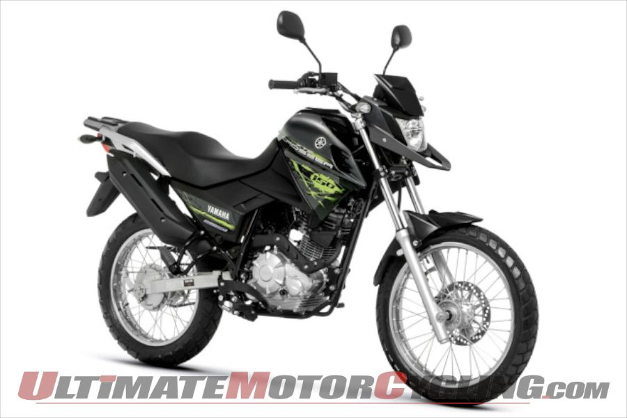 Yamaha XTZ150S Crosser BlueFlex (Ethanol) Launched in Brazil