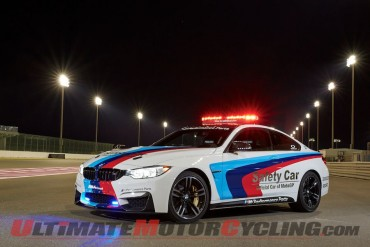BMW M4 Coupe Makes Debut as Official Car of 2014 MotoGP