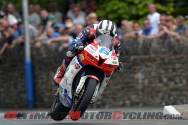 2014 Isle of Man TT | Michael Dunlop Leads Supersport Entry List