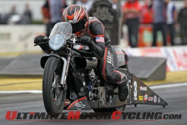 Harley's Hines & Krawiec Set for Gainesville Gatornationals