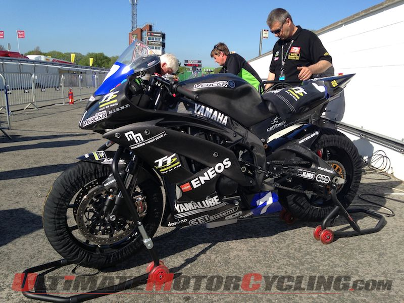 2014 TT Zero | Mark Miller with Team Vercarmoto on Yamaha 'R6E'