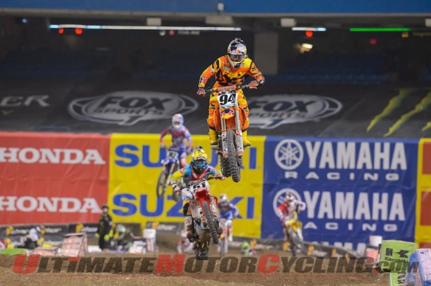 2014 Toronto Supercross | Rogers Center Results