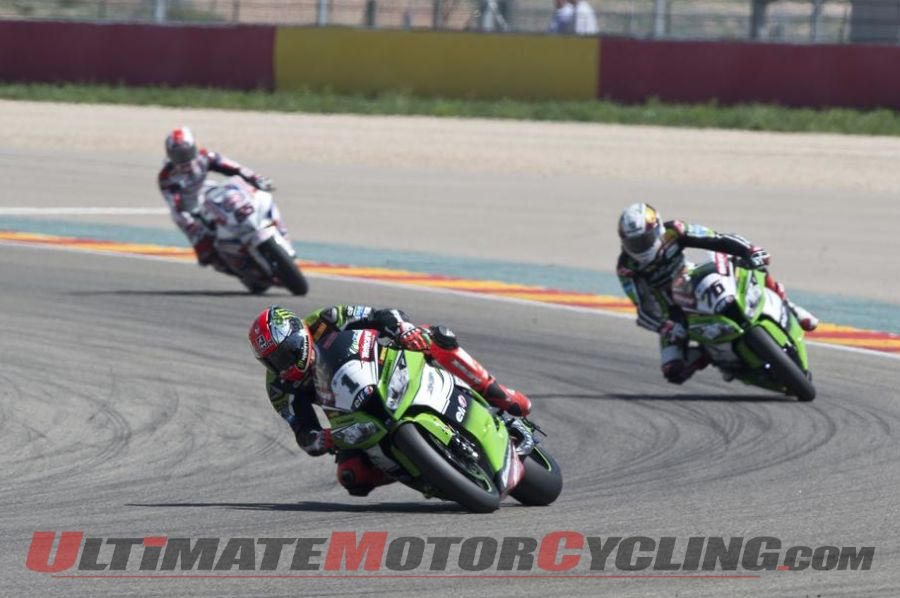 2014 Aragon World Superbike Post-Race Stats